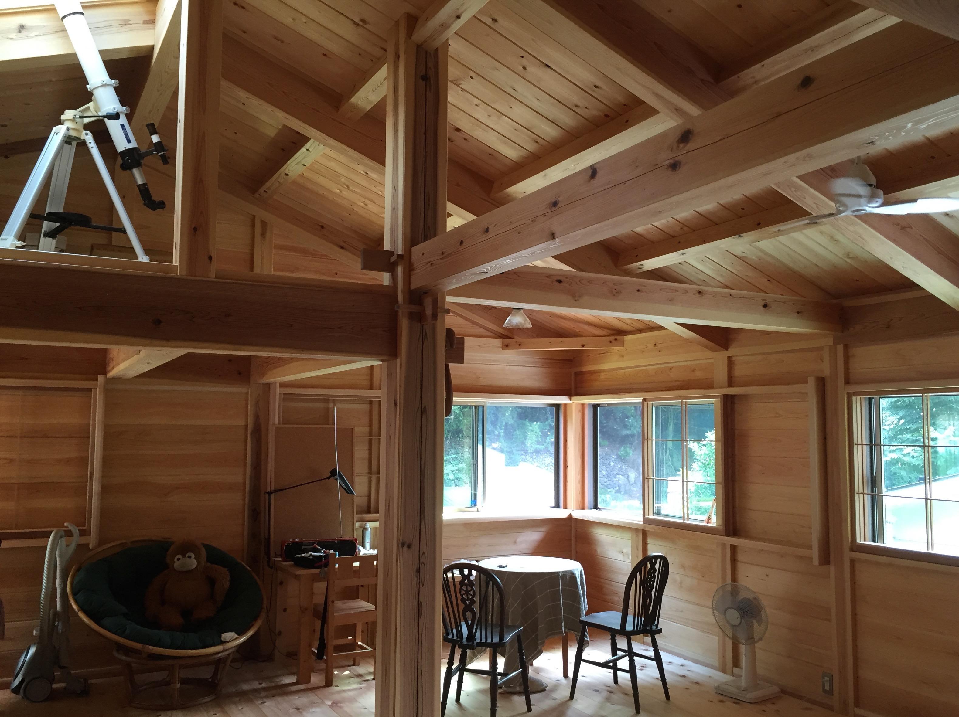 檜原村の木の家